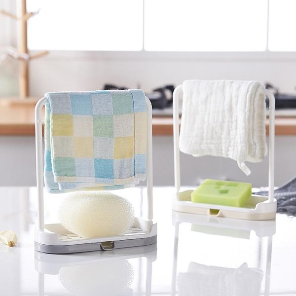 Shelf Towel Hanger Dishcloth Stand Wash