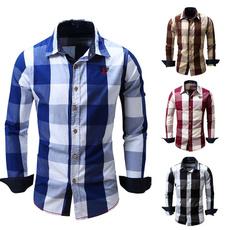 plaid shirt, plaid, Cotton Shirt, Shirt