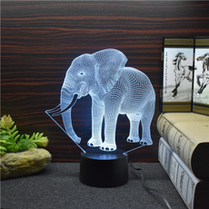 3dlamp, Night Light, touchswitch, Led Flash Light