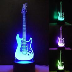 art, Electric, 3dlednightlight, Guitars