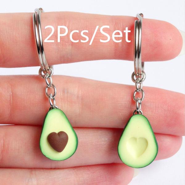 cute, avocadokeychain, Jewelry, Gifts