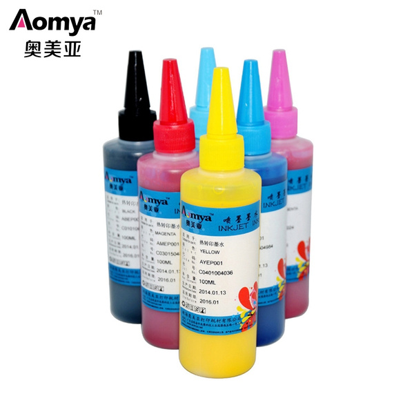 Compatible Printing Cup Ink Color Cup Special Ink Thermal Sublimation Ink  Heat Transfer Ink