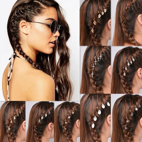 diy, hair jewelry, Beauty, Accessories