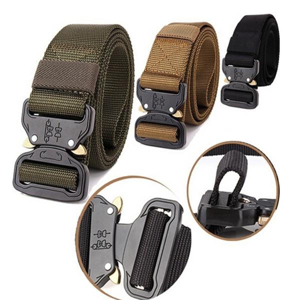 Utility Belt Cobra Riggers Belt Tactical Nylon Belt Outdoor Training Belt  Sport Belt for Men Inner Battle Belt Police Belt CCW Belt for Men EDC Belt