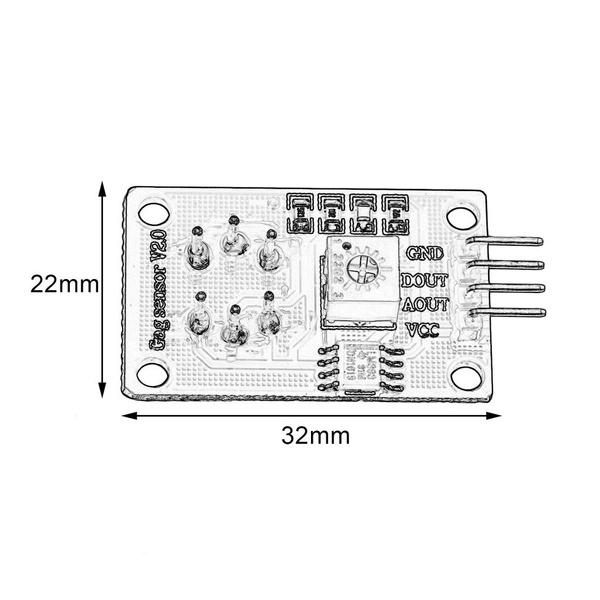 MQ135 Air Quality Sensor Hazardous Gas Detection Module For Arduino M27 SJP6
