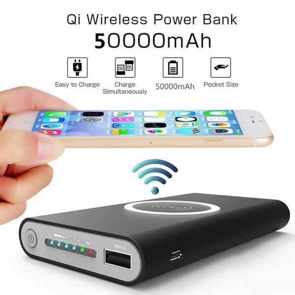 wirelesschargerpowerbank, Mobile Power Bank, External Battery, Powerbank