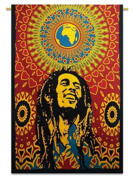 Wish | Third Eye Export Decorative Bob Marley One World Tapestry ...