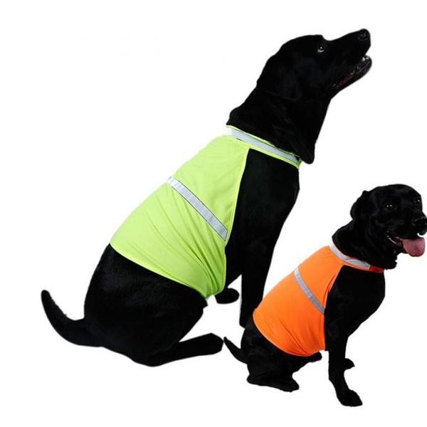 fe8ddd19bd39c Pet Dog Reflective Vest Fluorescent Security Safe Hunting Dog ...