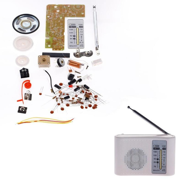 AM FM Radio Experimental Board DIY KIT Education Electronic Project