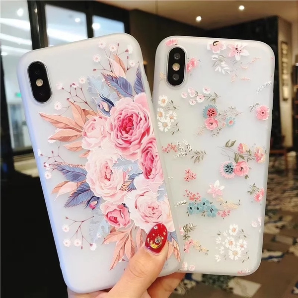 case, Flowers, iphone, Phone