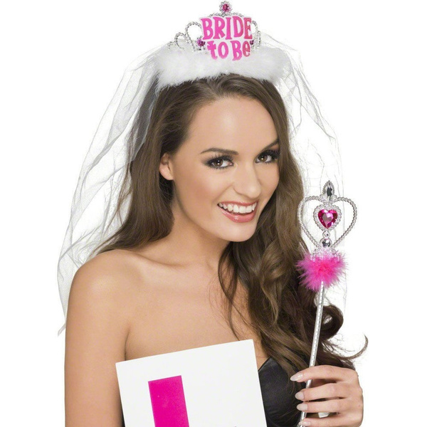 BRIDE TO BE TIARA FANCY DRESS HEN NIGHT