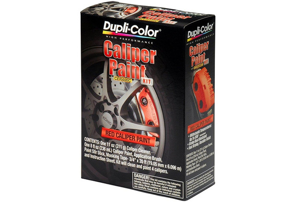 Wish Dupli Color Ebcp40000 Red Brake Caliper Kit Dupli Color