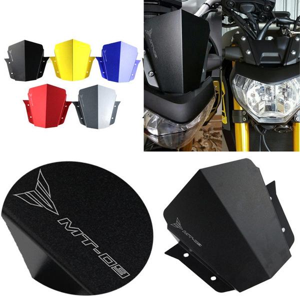 MT 09 Windscreen Windshield for Yamaha MT-09 2014 2015 2016 Aluminum