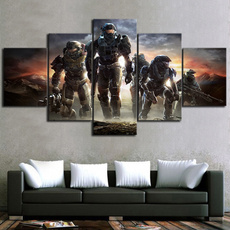 Home Décor, warrior, canvasart, Wall Art