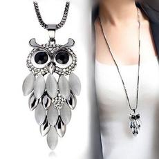 bohemia, Owl, Turquoise, handknitting