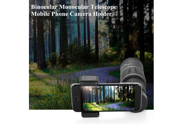 Wish binocular monocular telescope mobile phone camera holder