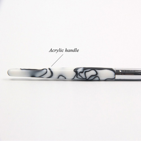 Wish | 1Pc Big Size 20# Acrylic Nail Art Brush Classical Design ...