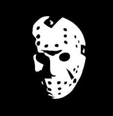 Car Sticker, horrormovieface, Decals & Bumper Stickers, Movie