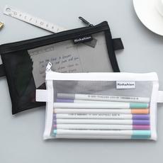 transparentgauze, pencilcase, officeampschoolsupplie, Makeup bag