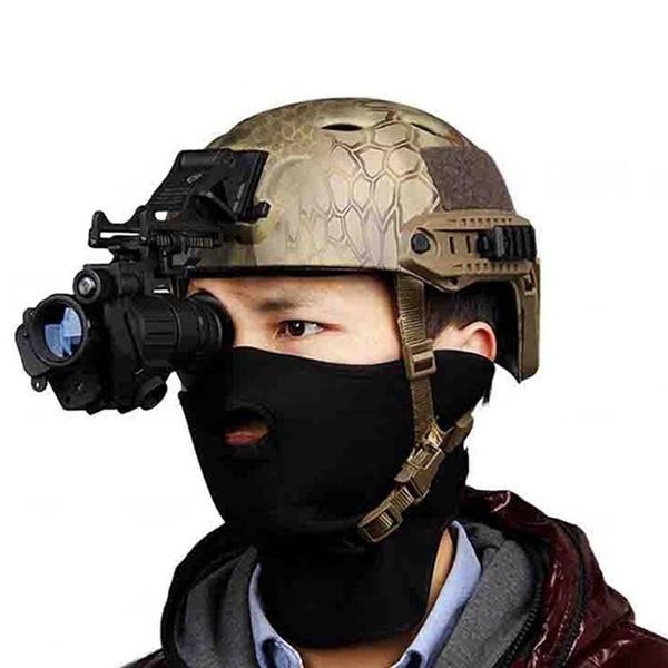 Helmet, outdoorcampingaccessorie, Telescope, Hunting