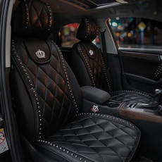 carseatcover, carcushion, leather, crown