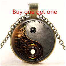 Chain Necklace, Jewelry, Gifts, Steampunk