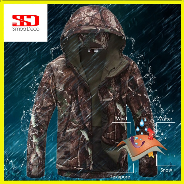 bedd011926c9 Simba Shark Skin V 4.0 Military Tactical Softshell Army Camouflage ...