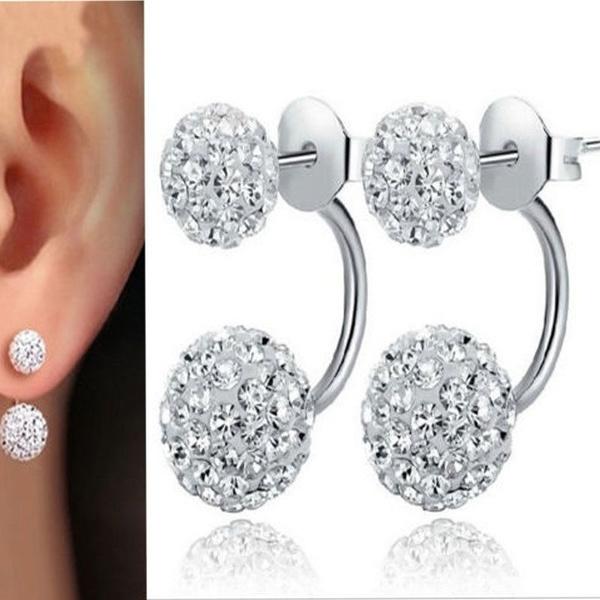 woman fashion, Bling, Jewelry, Stud Earring