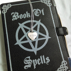 pagannecklace, Heart, Goth, gothicgift