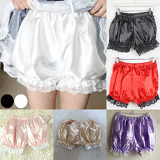 cute, pumpkinbubbleshort, Shorts, Lace