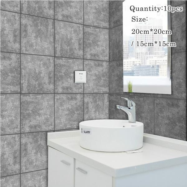 mosaic, Bathroom, American, diy