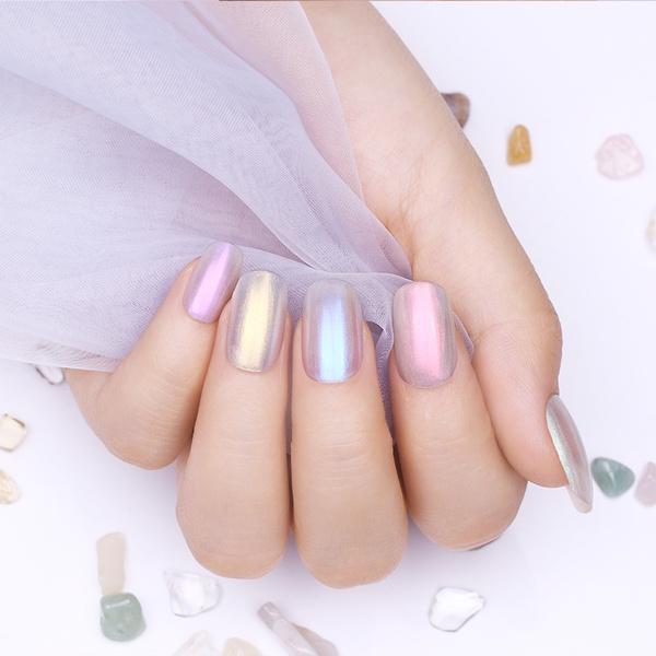 Image result for shimmer nails
