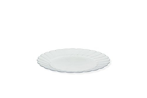Wish | 50 Premium Hard Clear Plastic Plates Set By Oasis Creations ...