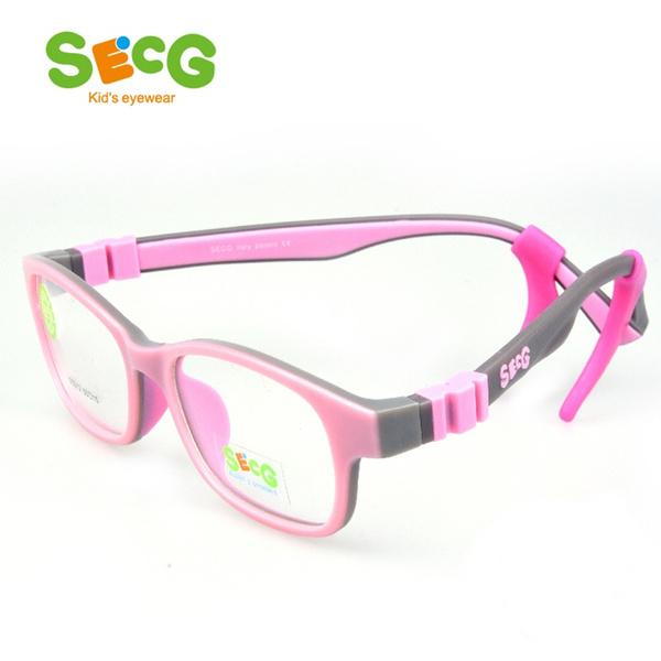 47dc036dcb89 SECG Optical Children Glasses Frame TR90 Silicone Glasses Children ...
