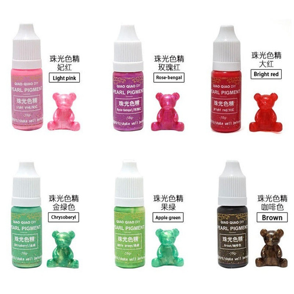 Wish | Epoxy Color UV Resin Coloring Dye Colorant | Resin Pigment ...