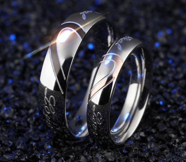 Couple Rings, Sterling, Women Ring, Silver Ring