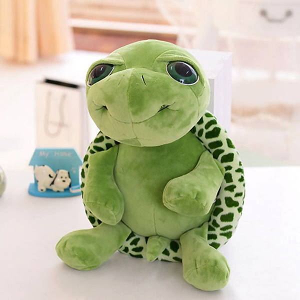 Wish 7 Big Eye Eyelid Cute Turtle Stuffed Animals Doll Plush Soft