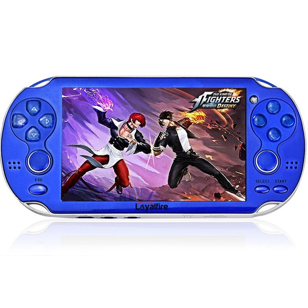Wish | 4.3 Inch Free 2000 games Video Game Console 4GB Game Player