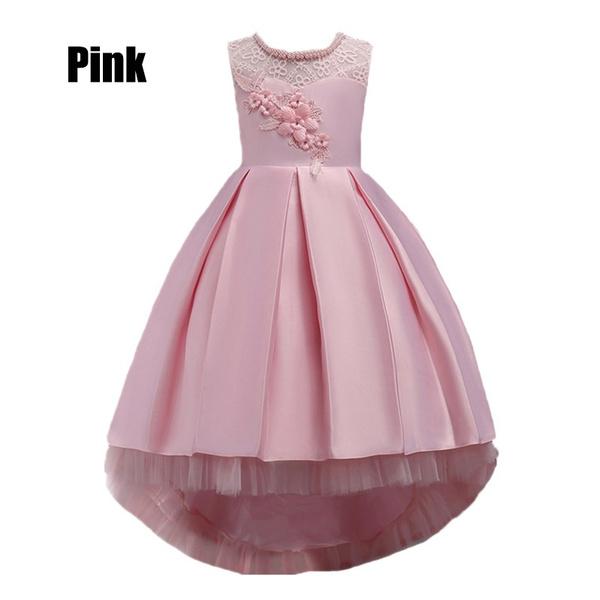 Wish New Summer Children Dresses For Girls Princess Kids Formal