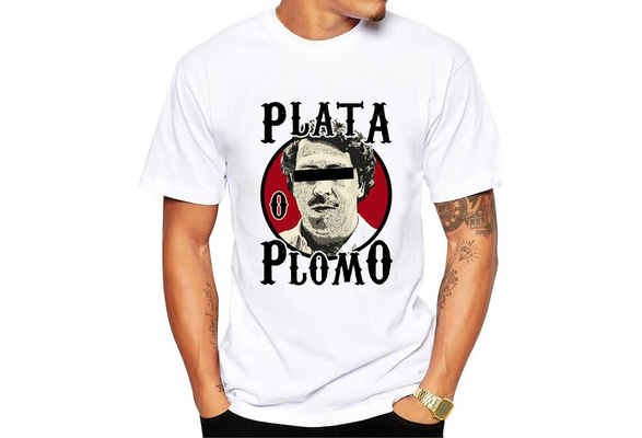 New Summer Fashion Brand Cotton Men Clothing Male Slim Fit T Shirt Pablo Escobar Printed Man T-shirts Homme Casual Tops Funny T-Shirt