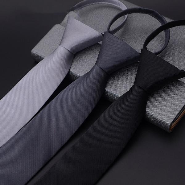 Men, Necktie, Mens Accessories, Pure Color