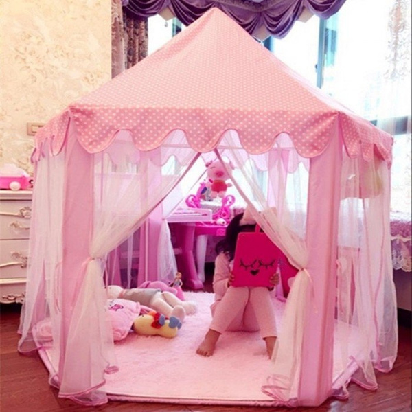 Funny, Outdoor, outdoortent, Princess
