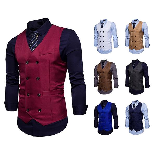 vesttop, sleeveless, Fashion, Men's vest