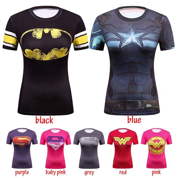 084461db Superhero T-Shirt Captain America Civil War Tee 3D Printed T-shirts ...