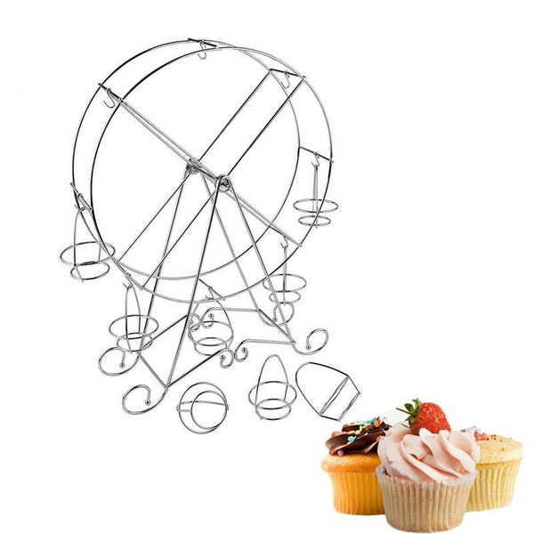 Wish 8 Cup Ferris Wheel Cake Rack Cupcake Stand Holder For