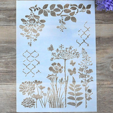 album, Decorative, stencil, Garden