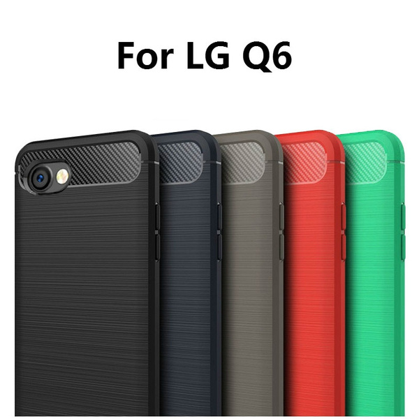 wholesale dealer 28d6a 8d5a7 For LG Q6 Case LG Q6 Cover fundas lg q6 fundas lg q6 Anti-Wrestling PU  Leather Protection Cover for LG Q6