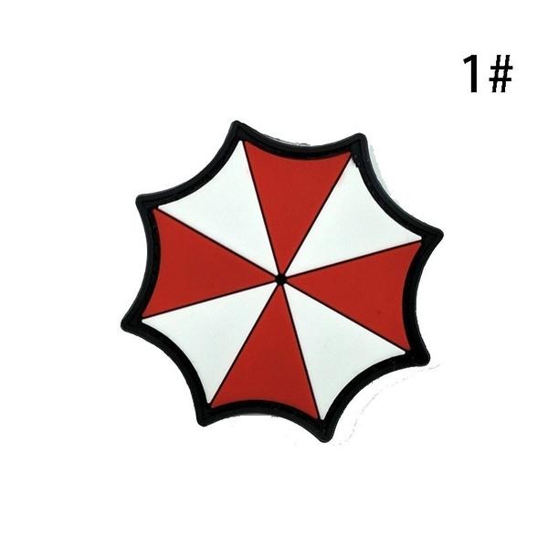 Wish Resident Evil Umbrella Corporation Logo Uniform Costume Badge
