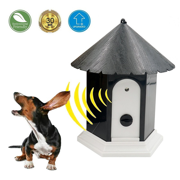 Outdoor ultrasonic anti barking control device dog pet stop barking training