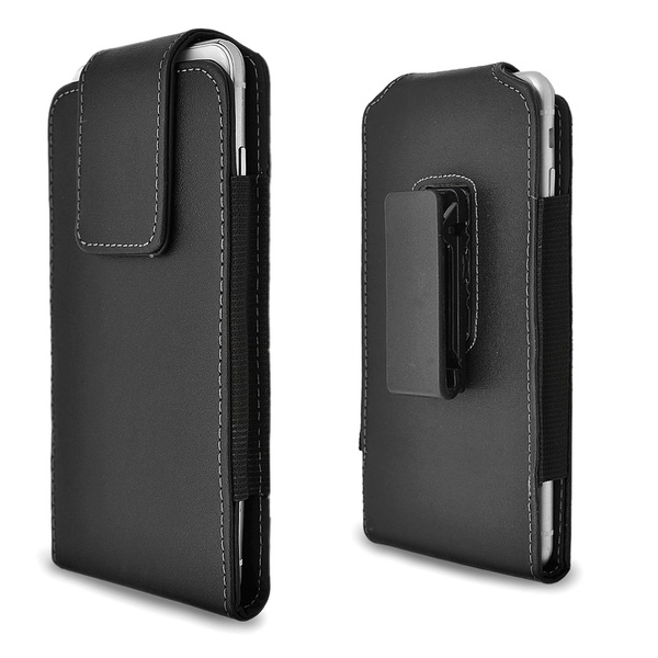 low priced 4d365 6fbfc iPhone 6s Plus Holster Case, Gcepls iPhone 7 Plus Premium Leather Holster  Belt Case with Clip / Loops Belt Pouch Holder Cover with Built in Card Slot  ...